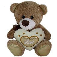 Teddy Bear Heart Brown - 23 cm - Teddy Bear