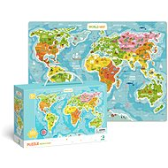 Puzzle World Map -100 pieces