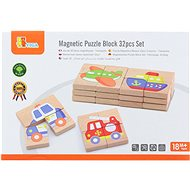Wooden Magnetic Puzzle - Means of Transport