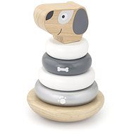 Wooden Pyramid - Dog - Wooden Toy