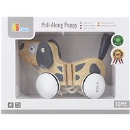 Wooden Tug and Pull - Dog - Push and Pull Toy