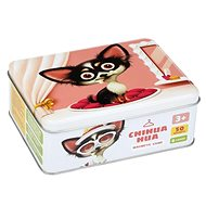 Puzzlika 14279 Chihuahua - Dog Fashion - Magnetic Game 50 pieces and 8 designs - Puzzle