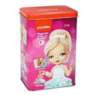 Puzzlika 14293 Magnetic Doll II - Magnetic Hame 45 pieces and 8 designs - Puzzle