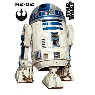 ABYstyle - Star Wars - Self-adhesive Wall Decoration - scale 1: 1 - R2D2 - (size: 95 x 66cm]
