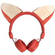 Wired Headphones Forever AMH-100 Foxy 3.5mm Mini Jack with Magnetic Elements Orange - Headphones
