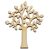 Optys Wooden Cutout Deciduous Tree , 10 x 8cm - Wooden Cutouts