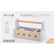 Wooden Bass with Tools - Wooden Toy