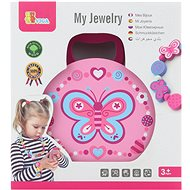 Wooden Jewellery Box with Accessories - Wooden Toy