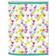 Style Workbook A5 Trend Lined Triangles - Notebook