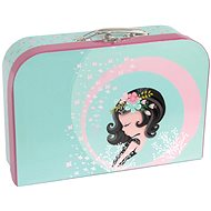 Style Suitcase Cute Girl - Small Carrying Case