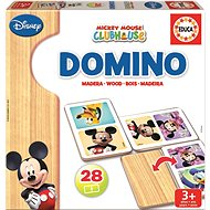 Mickey and Minnie's Wooden Dominoes - Domino
