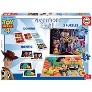 A set of Toy Story 4, 4in1 games - Game Set