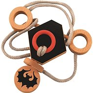 Wooden Puzzle IQ Games Dracula's Knot 67005 - Brain Teaser