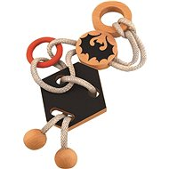 Wooden Puzzle IQ Games Dracula's Knot 67036 - Brain Teaser