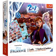 Games Frozen 2, 2in1: Man, Don't be Angry and Snakes and Ladders - Board Game
