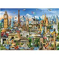Puzzle Wonders of Europe 2000 pieces - Puzzle