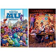 Puzzle Monsters, Inc. and Coco 2x100 Pieces - Puzzle