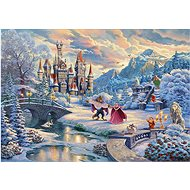 Beauty and the Beast Puzzle: Winter Magic 1000 pieces - Puzzle