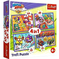 Puzzle Super Zings S5 4in1 (35, 48, 54, 70 pieces)