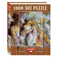 Wooden Puzzle Gas Station 1000 pieces