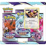 Pokémon TCG: SWSH06 Chilling Reign- 3 Blister Booster - Card Game