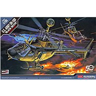 """Model Kit Helicopter 12131 - U. S ARMY OH-58D """"BLACK DEATH"""" - Plastic Model"""