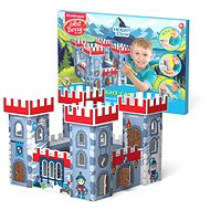 House for colouring - Knight's Castle - DIY for Children