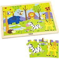 Wooden Puzzle 24 pieces - Zoo - Wooden Puzzle