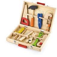 Wooden tools in case - Wooden tools