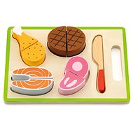 Wooden slicing - meat - Thematic Toy Set