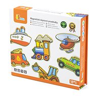 Wooden Magnets 20 pcs - Vehicles - Wooden Toy