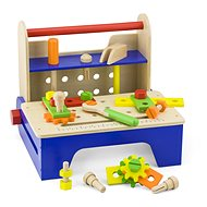 Wooden Screwdriving Set with Tools - Wooden Toy