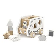 Wooden Jigsaw and Jigsaw Puzzle - Truck