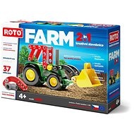 Roto 2-in-1 Tractor, 37 pieces - Building Kit
