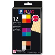 FIMO Professional Set of 12 Colours 25g BASIC - Modelling Clay
