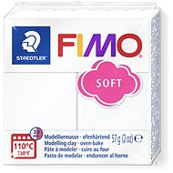 FIMO Soft 8020 56g White - Modelling Clay