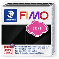 FIMO Soft 8020 56g Black - Modelling Clay