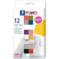 FIMO Soft Set of 12 Colours 25g FASHION - Modelling Clay