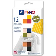 FIMO Soft Set of 12 Colours 25g NATURAL - Modelling Clay