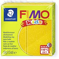 FIMO Kids 8030 42g Gold with Glitter - Modelling Clay