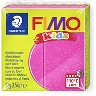 FIMO Kids 8030 42g Pink with Glitter - Modelling Clay