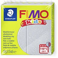 FIMO Kids 42g Silver with Glitter - Modelling Clay