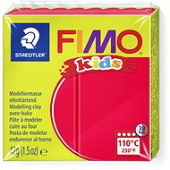 FIMO Kids 8030 42g Red - Modelling Clay