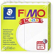 FIMO Kids 8030 42g White with Glitter - Modelling Clay