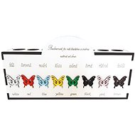 """Crayon box """"Butterfly"""" - Pencil Holder"""