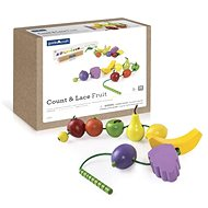 Count and String the Fruit - Wooden Toy