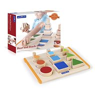 Sorting Shapes by Size - Wooden Toy