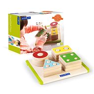 Sorting Shapes with Counting - Wooden Toy