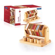 Tactile Roller - Turn and Match - Wooden Toy
