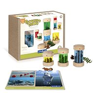 Treasure Boxes - Coloured - Wooden Toy
